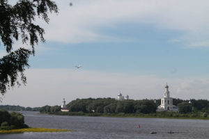 вид на Юрьев монастырь