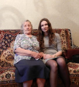 Шигина Нина Степановна и Валерия Кирышева